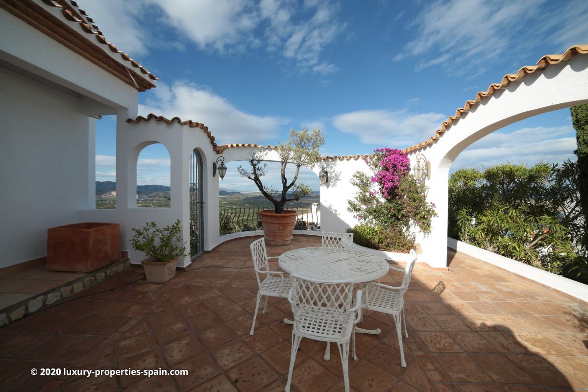 Luxury property for sale on Monte Pego - Denia - Costa Blanca - Spain