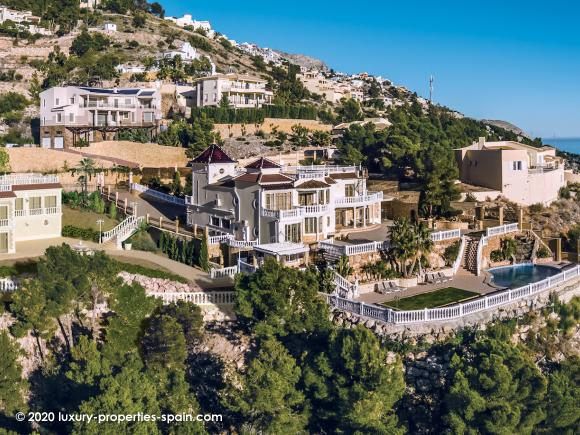 For sale Luxury villa in Altea